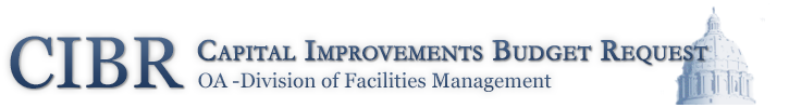 CIBR - Capital Improvements Budget Request - OA Division of Facilities Management